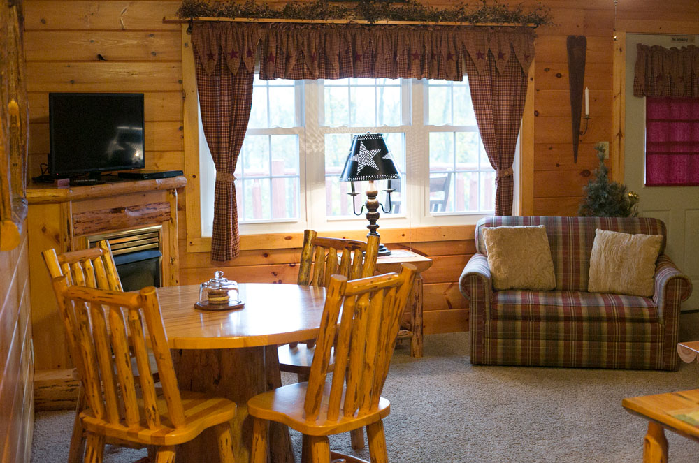 room cabins in blessings romantic amish grace lodge living ohio country
